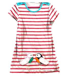 Other - Girls Striped Spring Dress